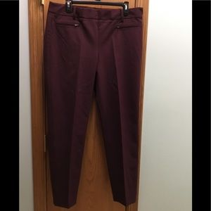 NWT Talbots Chatham Ladies Pants size 12